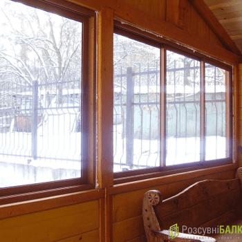 Розсувні алюмінієві вікна двері