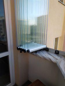 якісне безрамне скління балконів ціна львів