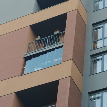 Безрамне панорамне скління балконів, лоджію, альтанку, терасу. Львів та область.