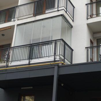 glass set безрамне скління балкону